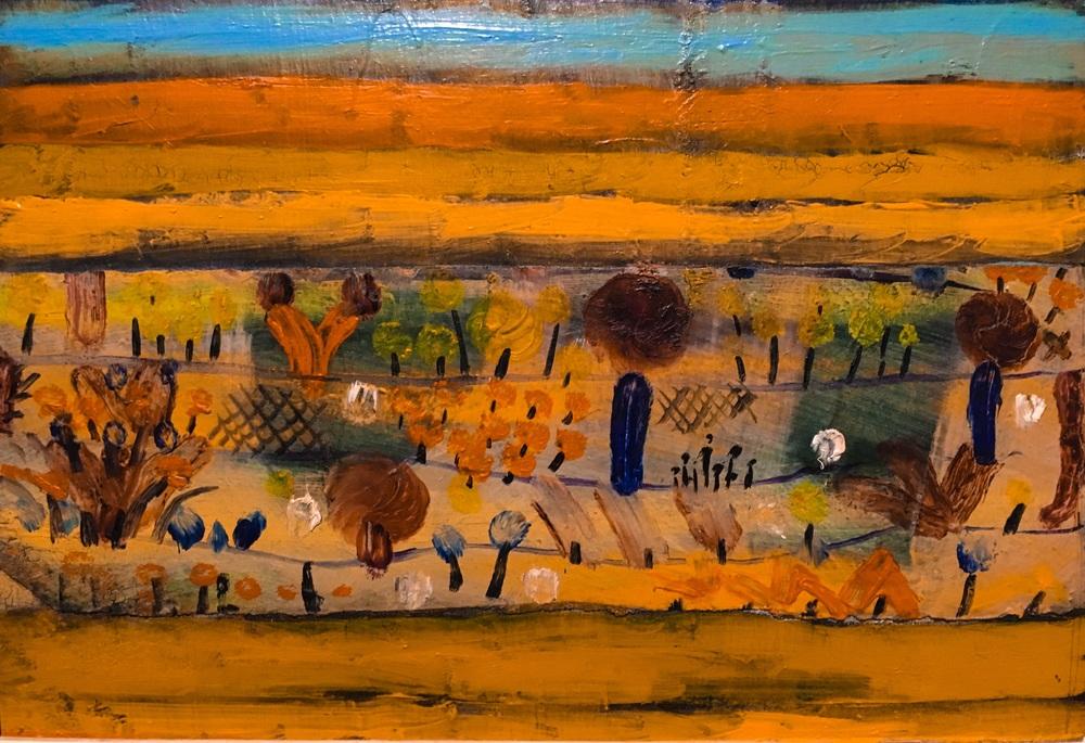Painting of klee's garden