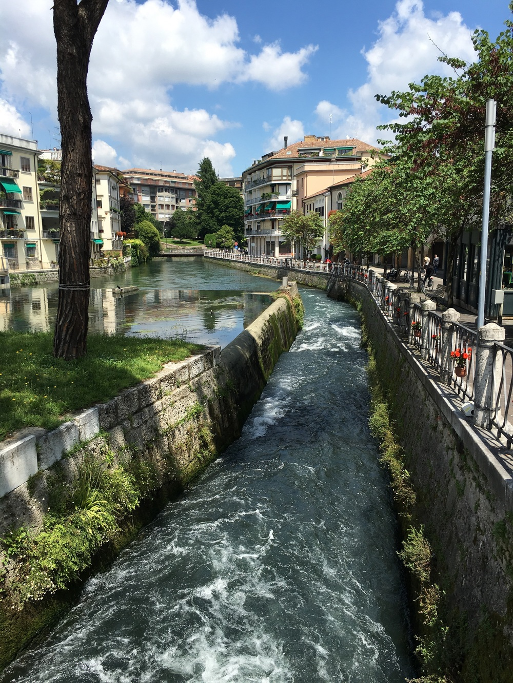 One of the canals in Treviso