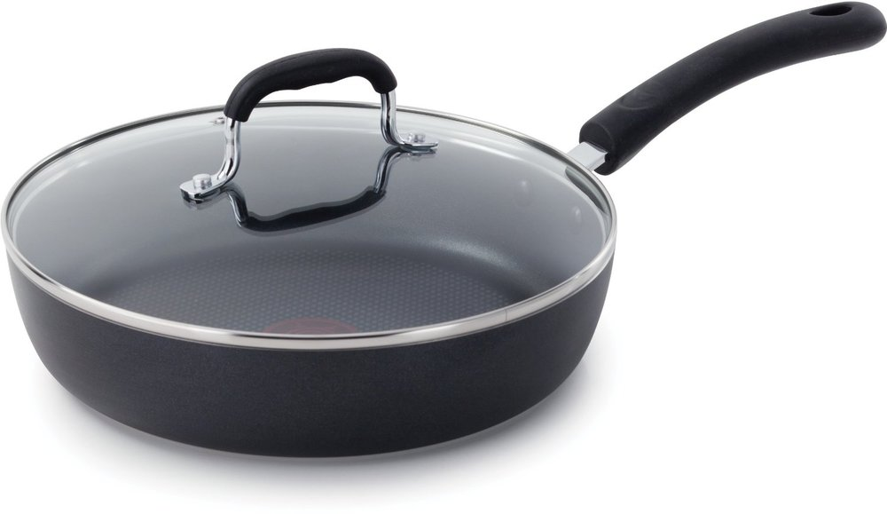 This versatile pan is great for stir frying, scrambling eggs, searing steak, and more.