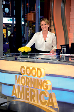 Good Morning America's  Amy Robach got the shock of her life last fall. Read about how a mammogram on live TV saved Amy's life.