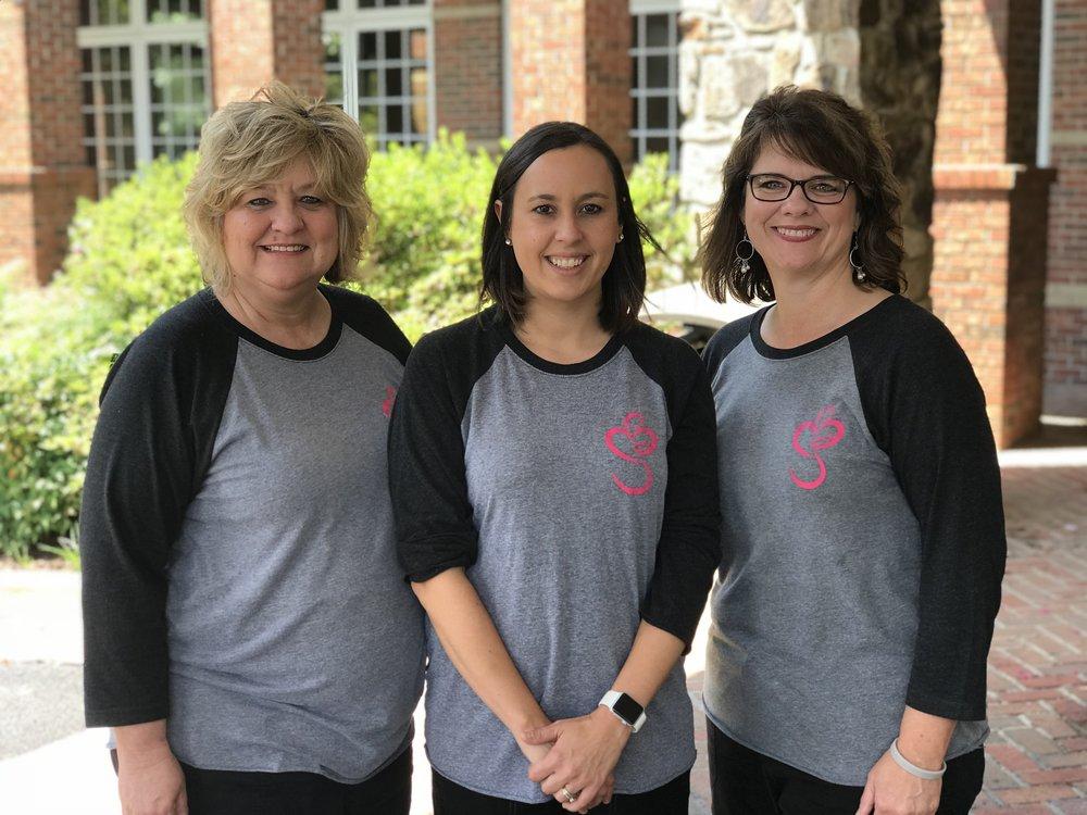Our OB Nurses Shelia, Lindsay, and Hope