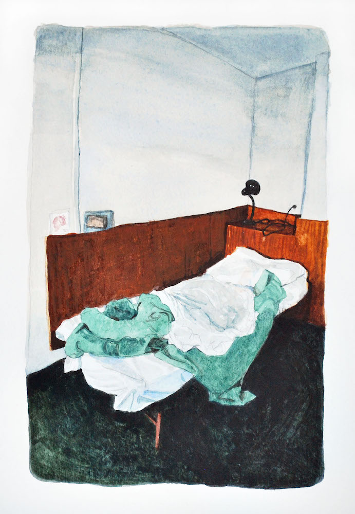 Bed, Paris