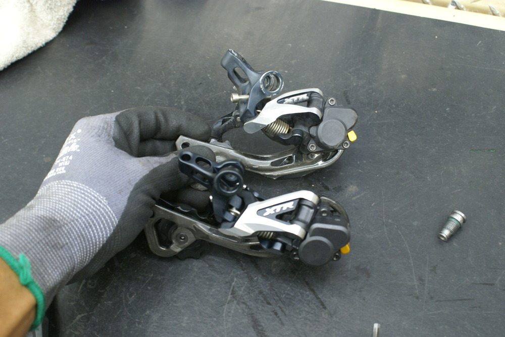 Shimano Derailleur direct mount