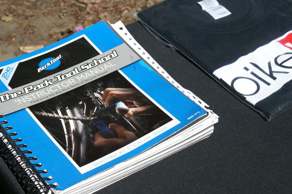 Park tool Book