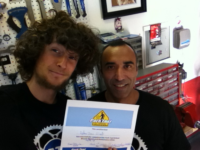 park tool certificate 40 hours