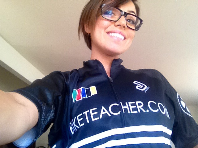 the first bike teacher jersey