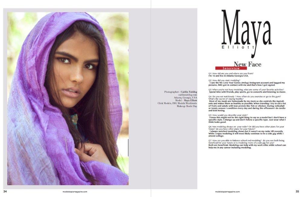 Modelstopia Magazine