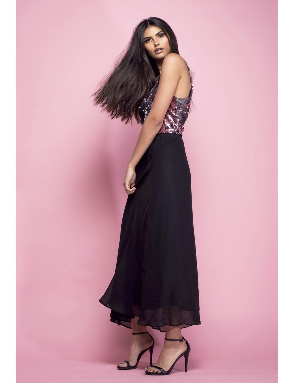 """All That Glitters"" published in Surreal Beauty Magazine  Model: Maya Elliott  Agencies: IMG Worldwide, Ursula Wiedmann Models  Makeup & Hair: Jessica Rochelle  Stylist: Joy Hollywood  Assistant: Alvin Powell"