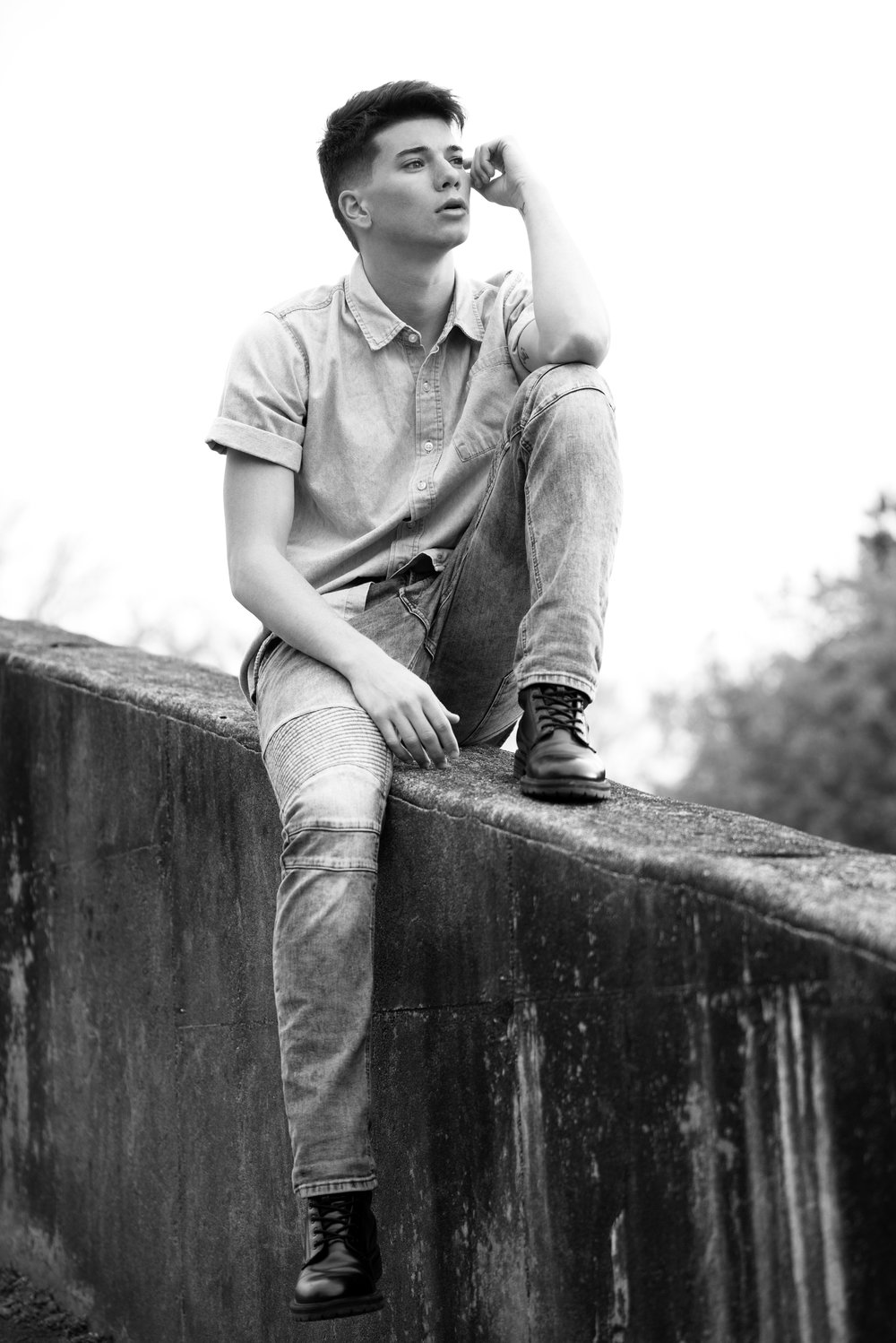 Model: Dawson Schumate  Agency: Click Models of Atlanta