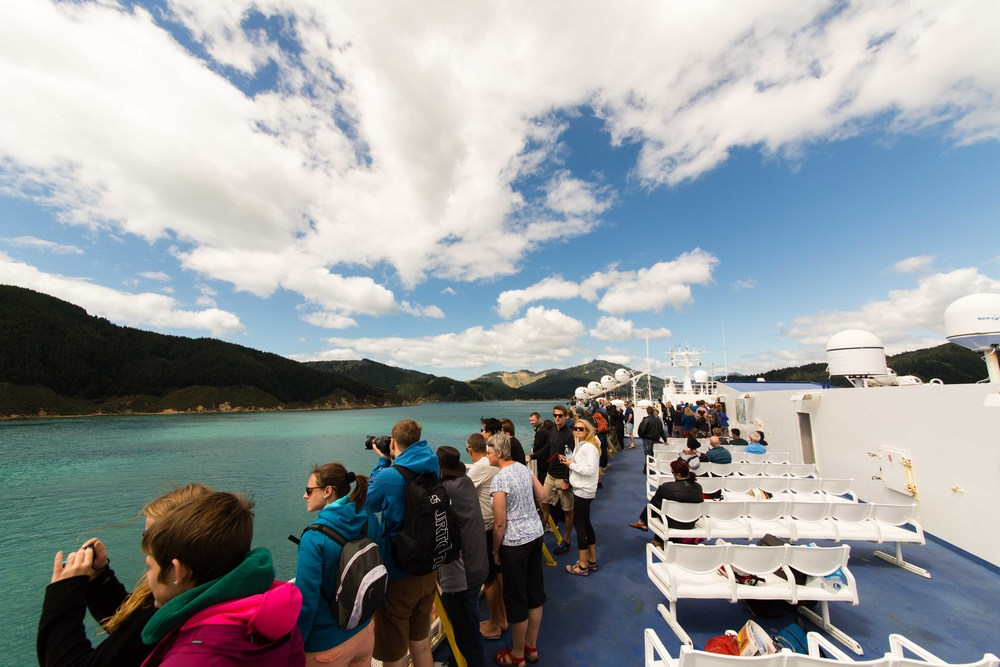 On the ferry to Picton