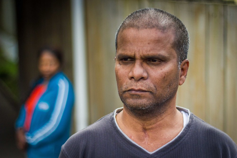 Pathma arrived in New Zealand in 2002 via the UN's refugee resettlement programme after spending 11 years in limbo in Malaysia.  His wife doesn't want to be identified, fearing for her brother and sister who remain in Sri Lanka.