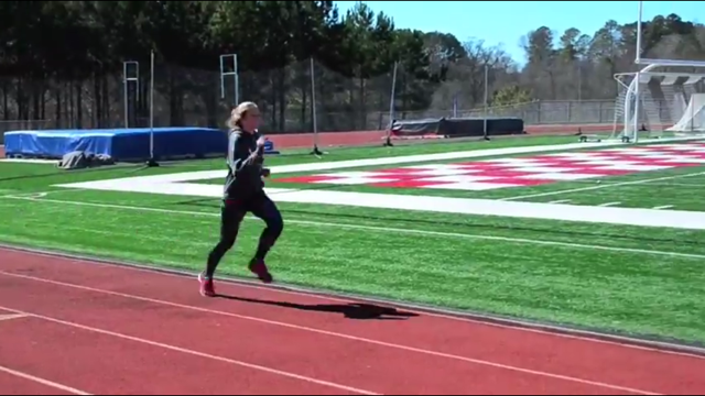 Track & Cross Country The above Athlete Video Profile is from a track & cross country student including an interview and video footage. Take a look.