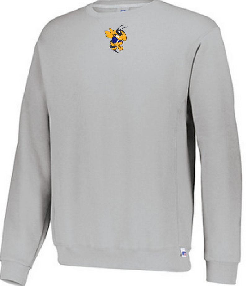 86a4258c2cf Russell Dri-Power® Fleece Crew Sweatshirt — Fly Ink
