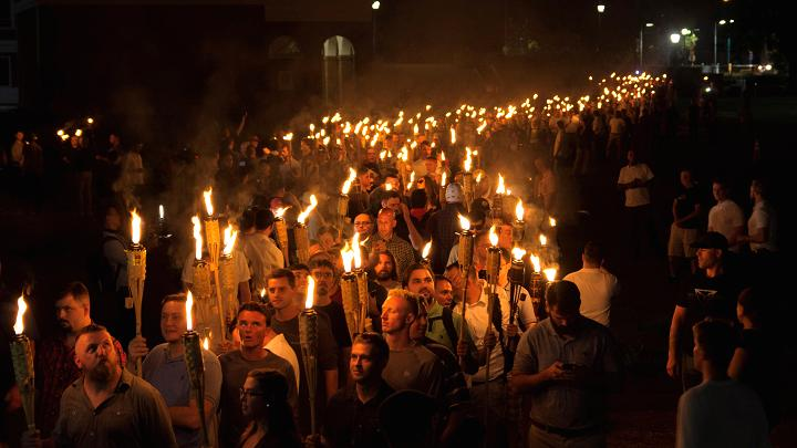 """Unite the Right"" rally in Charlottesville. Alejandro Alvarez 