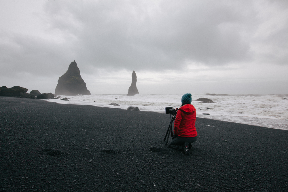 Lisa Iceland shooting vik beach.jpg