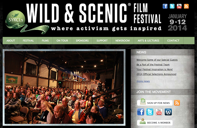Paul Colangelo Wild and Scenic Film Festival