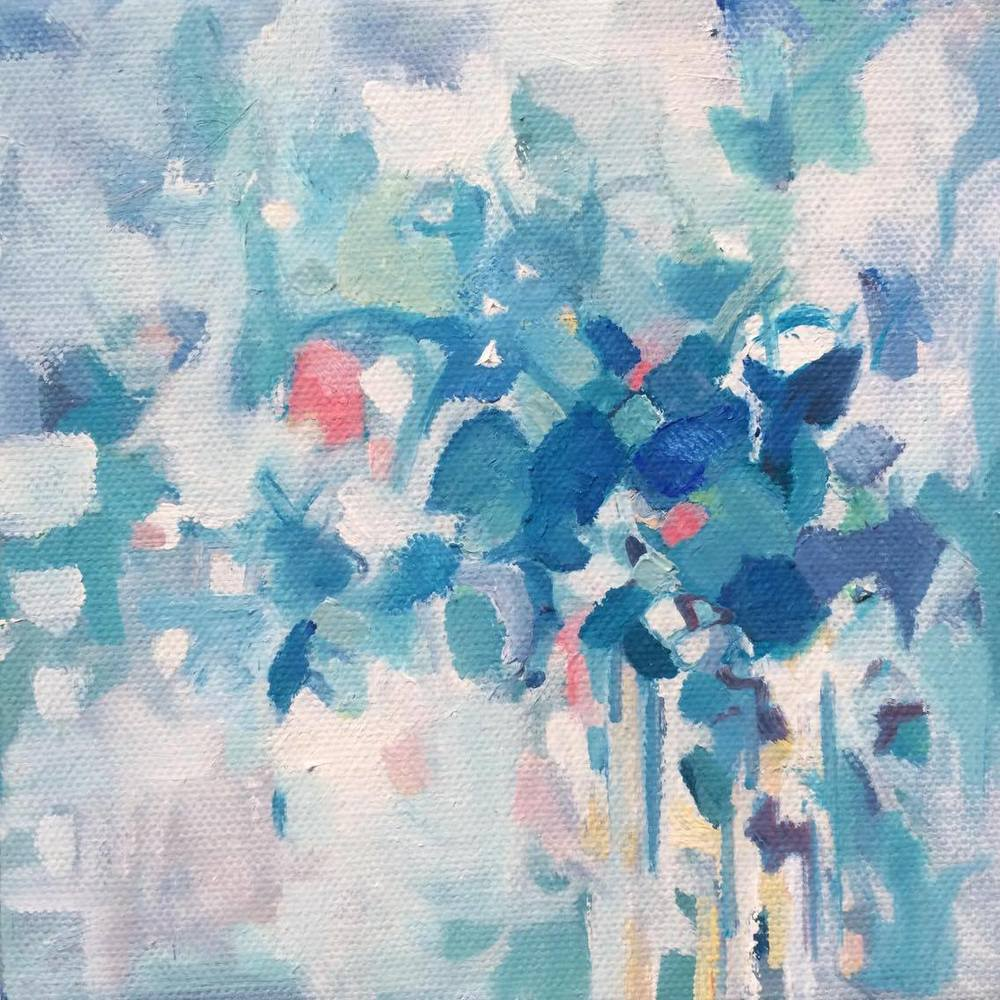 Winter's Dream 6x6, oil on canvas - SOLD