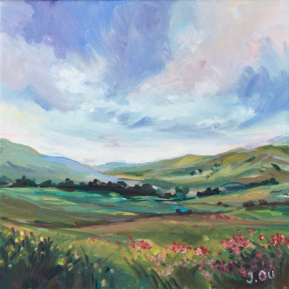 Back to the Valley, 10x10 - sold
