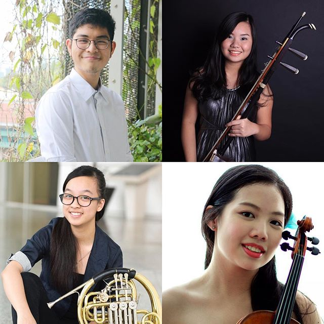Join us and four talented SOTA students for the fifth edition of Concerti I Solisti this Saturday!  Featuring Sarasate's Carmen Fantasy, Mozart's 4th Horn Concerto, an Erhu concerto, three Strauss songs and the Singapore premiere of Vladimir Ashkenazy's orchestration of Mussorgsky's ever popular Pictures at an Exhibition, this eclectic concert is not to be missed!  Tickets at $25 (Student concessions at $10) from http://www.apactix.com/events/detail/concerti-i-solisti-v