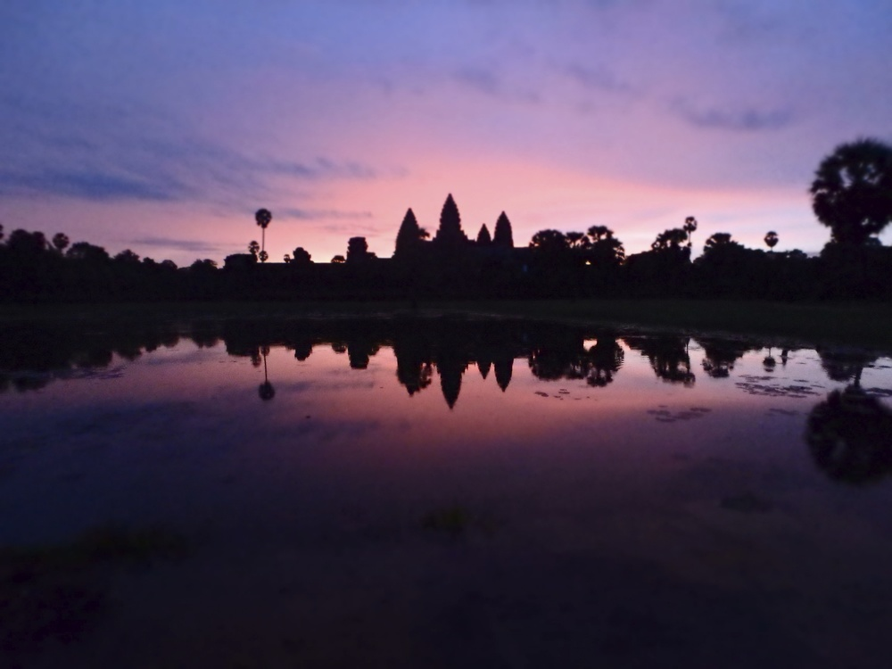 Sunrise of Angkor Wat