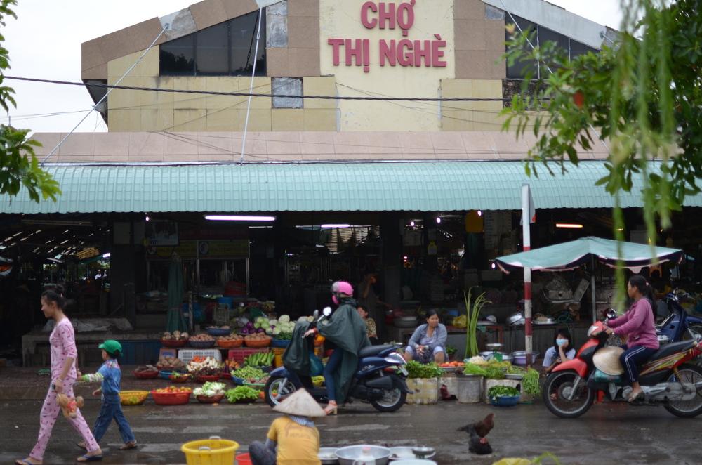 Local market in HCMC