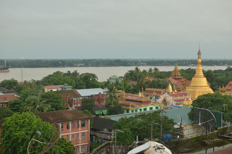 Giving back in ... Yangon
