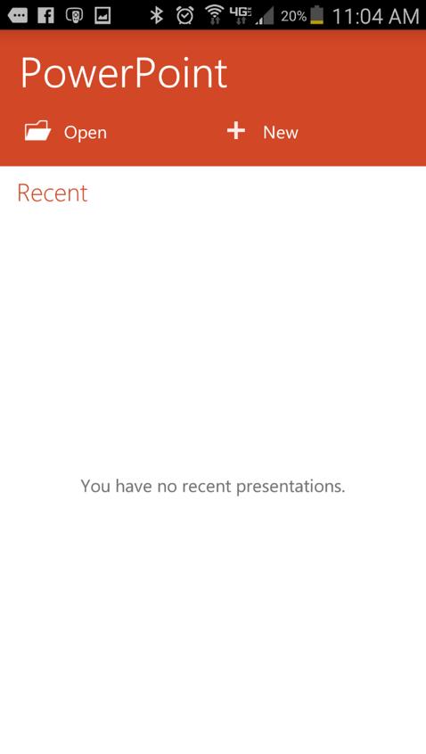 PowerPoint Open