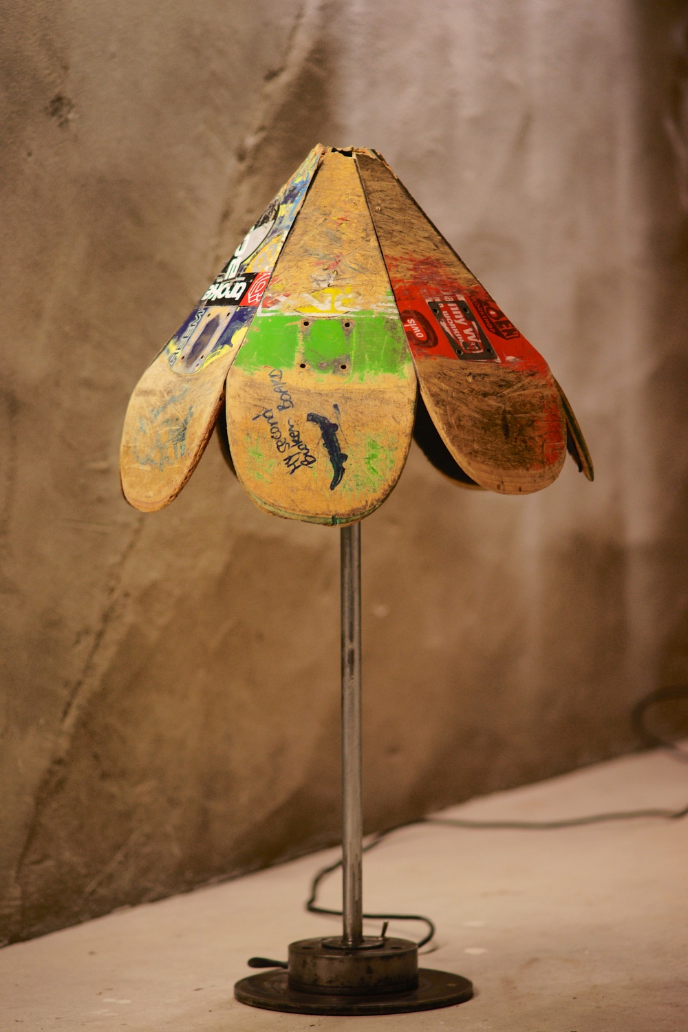 Skate Table Lamp