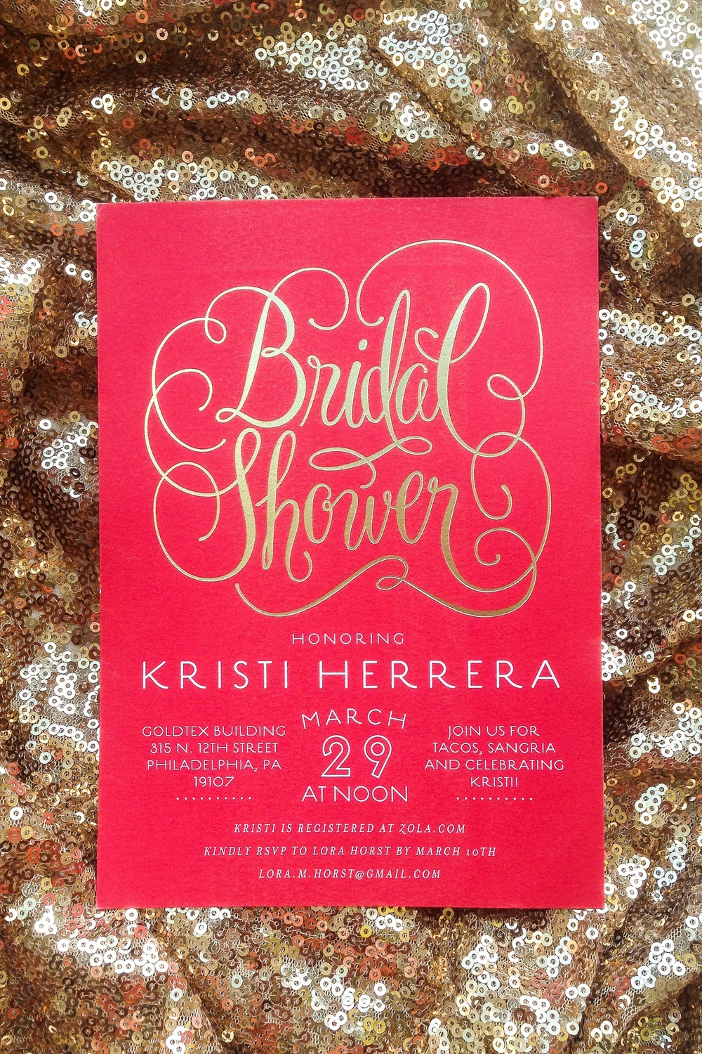 Colorful When To Mail Bridal Shower Invitations Gift - Invitations ...