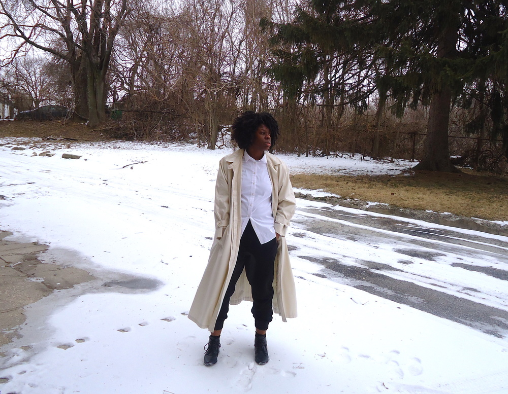 White Trench