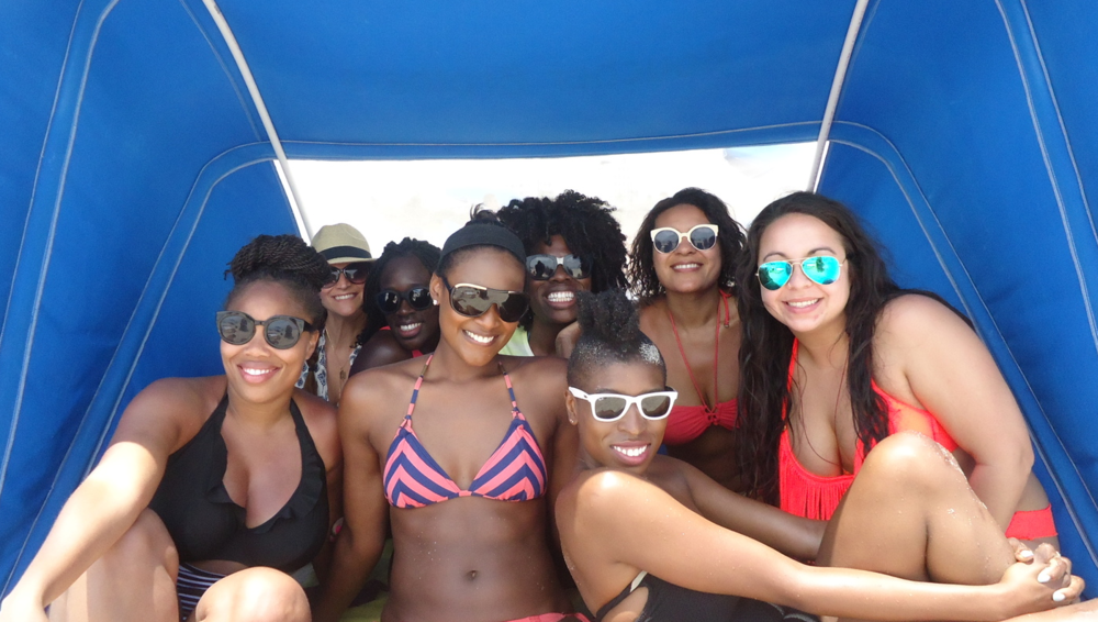 Right to left. Terry, Pollyanna, Andrea, Erin Day, TiffB, Elina, andAmanda