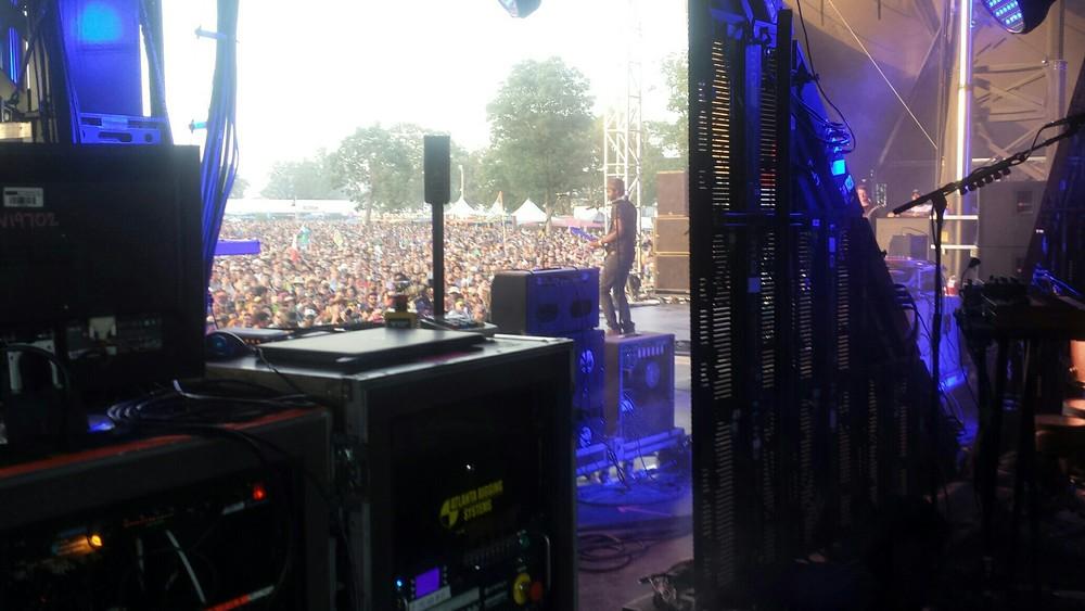 Gary Clark Jr. performance at Bonnaroo 2015.