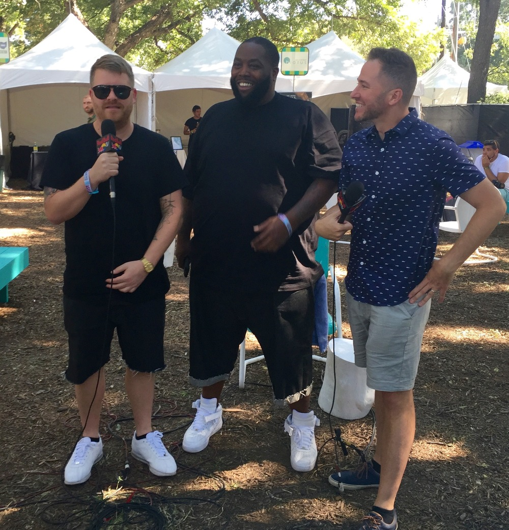 Run the Jewels and Ted Stryker