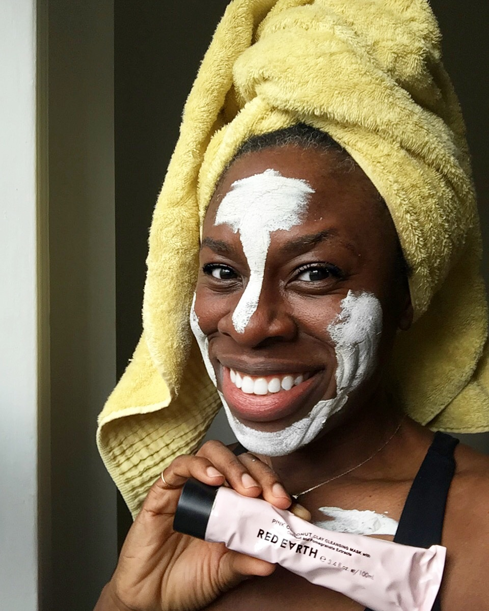 RED EARTH PINK CLAY MASK