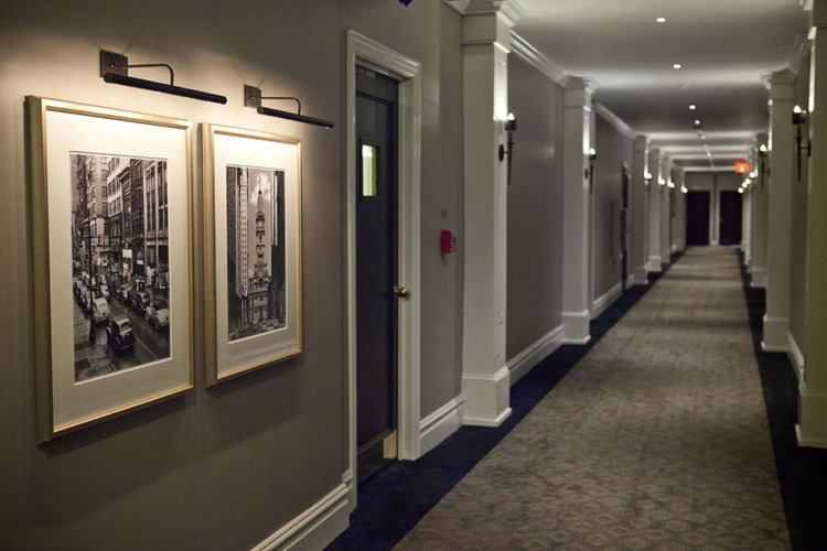 Hallway Pictures at The Touraine Apartments for rent in Rittenhouse Square