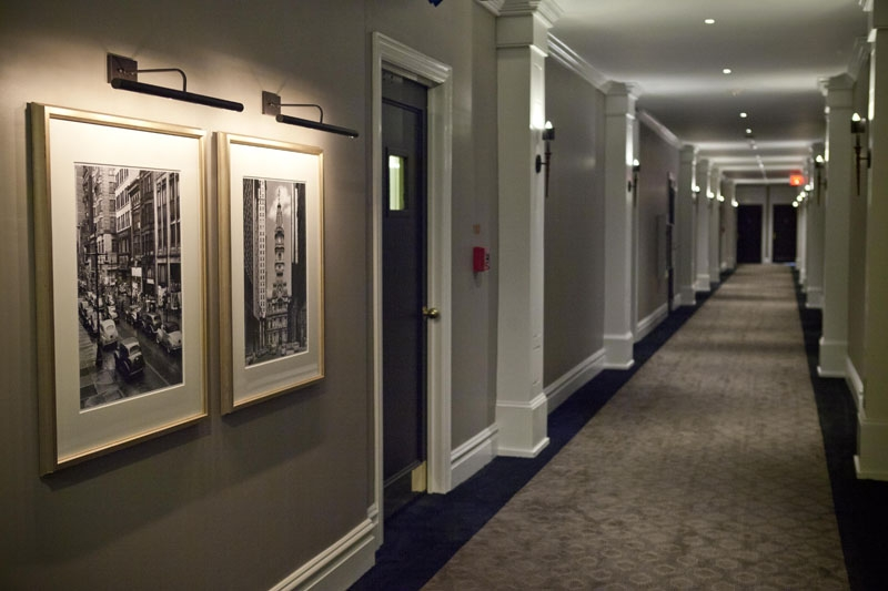Hallway Pictures at The Touraine Apartments in Rittenhouse Square Philadelphia