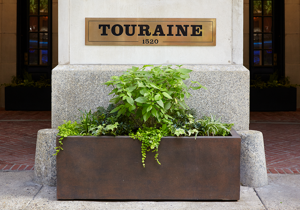Touraine luxury apartments Rittenhouse Square