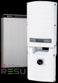 SolarEdge with DC optimizers.  RESU 10k Lithium Ion battery.