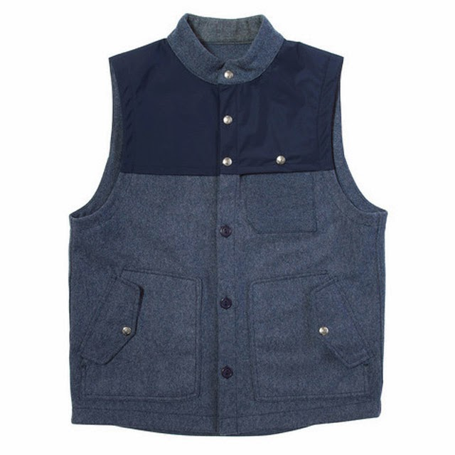 Freeman Commodore Wool Vest $180
