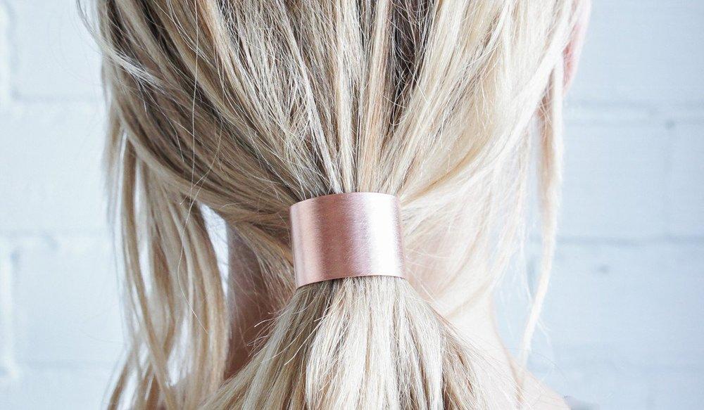 Spartan Shop -Caravan Pacific Brass Hair Tie $32
