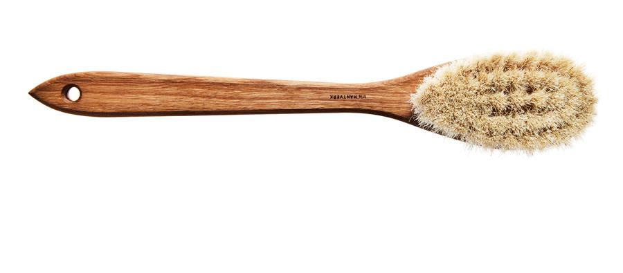 Kaufmann Mercantile -Handmade Swedish Horsehair Bath Brush $58