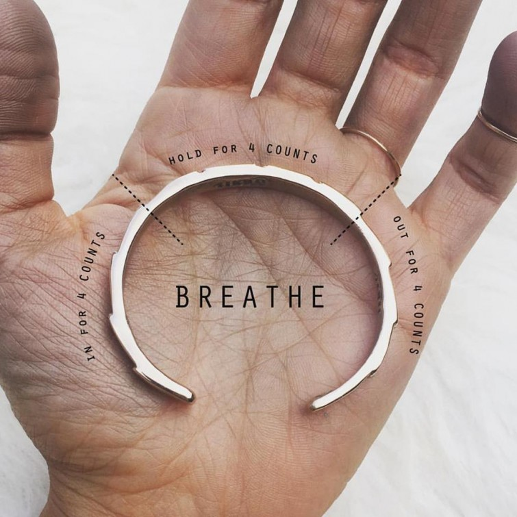 Mimosa Handcrafted - Breathe Bracelet $65