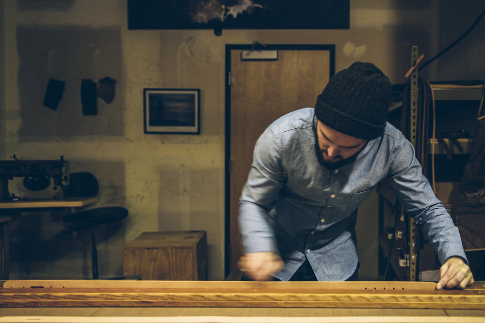 EST. 2012  -   WE WERE FOUNDED ON THE HOPE OF PRESERVING SKILLS & A LOVE FOR ALL THINGS WELL MADE                (AND GOOD TIMES MAYBE TOO)