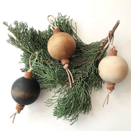 We're not saying your tree has to have Den & Delve's wooden ornaments, but it'd probably be a good idea. Patrick has a pretty keen eye when it comes to style so it's worth it to take a spin around his shop, Pinterest, and Instagram.