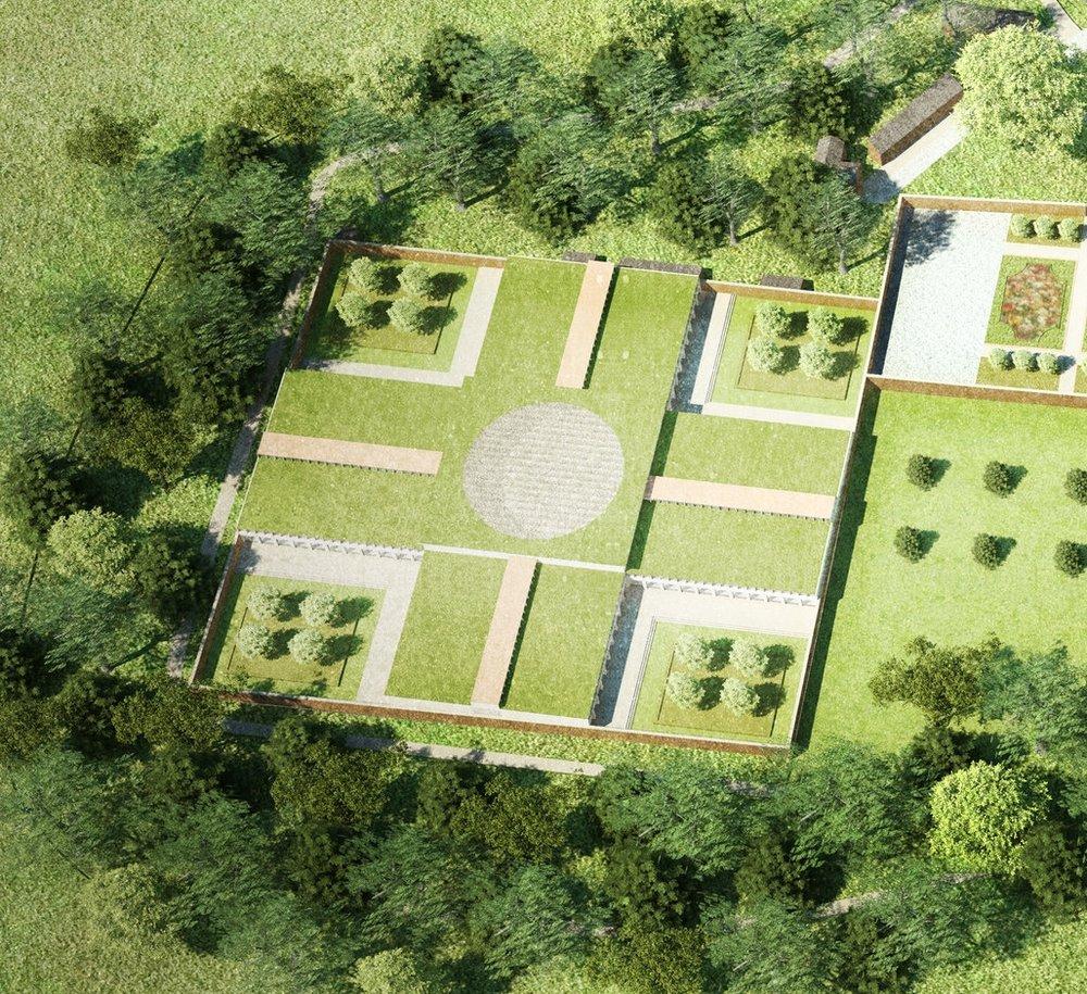 Walled Garden Business Units — Stonewood Design - Bath Architects