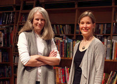 Karen Hayes and Ann Patchett