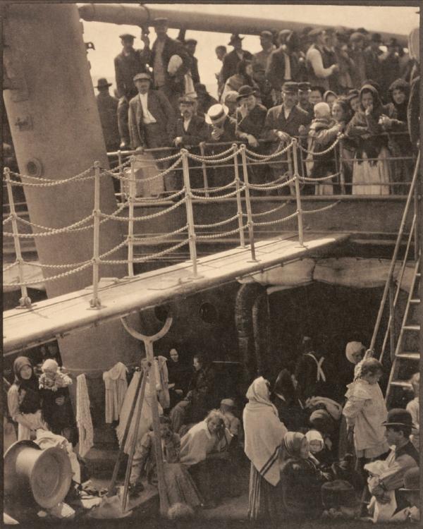 The Steerage  (1907) 19.7 x 15.8 cm by Alfred Stieglitz