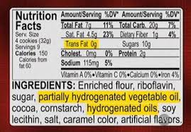 Deceptive methods of labeling can lead you to believe there are no trans fats in the product; NOT SO! Get informed and read carefully!