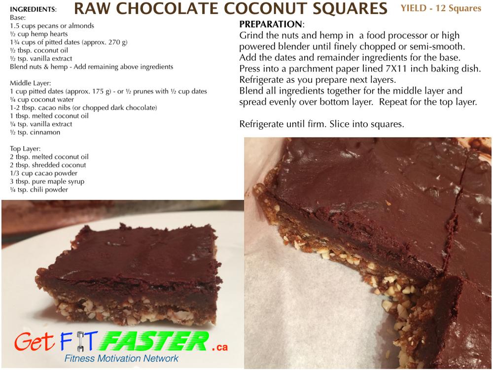 Ras Chocolate Coconut Squares getfitfasster.ca