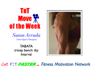 Click here for the Tabata Bench Workout.